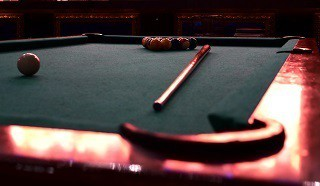 pool table moves with level in sparks content