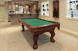 pool table setup service in sparks content